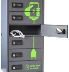 Taquillas para carga de móviles