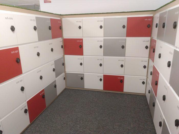 Instalación de taquillas electrónicas
