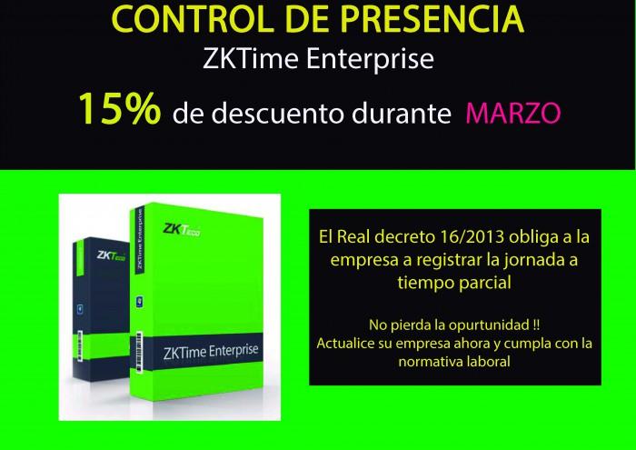 Oferta Control Presencia